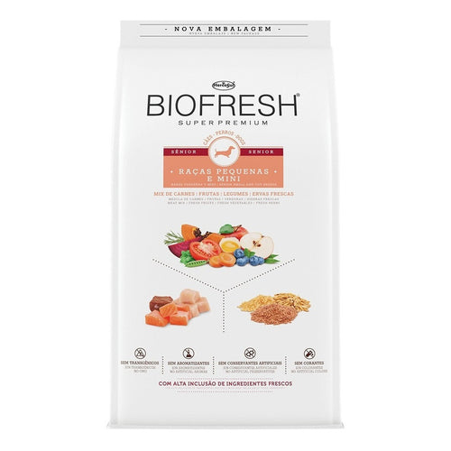 Biofresh Super Premium Senior Raza Pequeña 3 Kg + Regalo