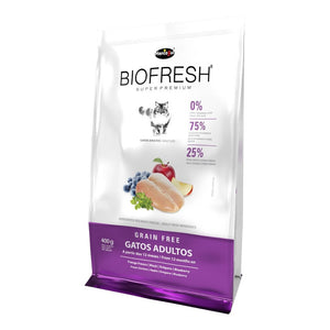 Biofresh Super Premium Gato Adulto 400 Grs Con Regalo
