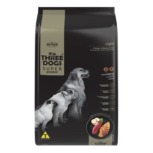 Three Dogs Super Premium Light 10.1 Kg Con Regalo
