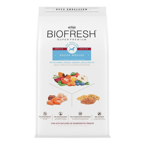 Biofresh Super Premium Senior Raza Mediana 10 Kg + Regalo