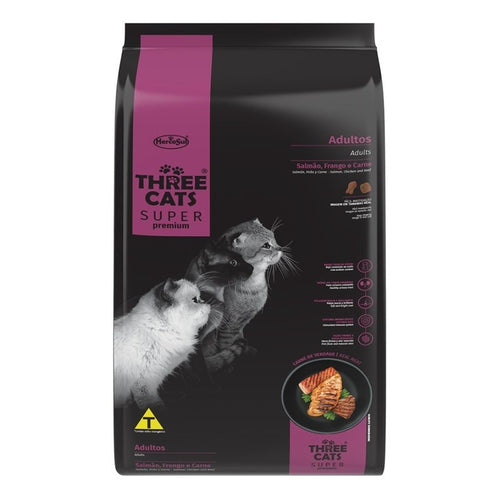 Three Cats Super Premium Adulto 15 Kg Con Regalo