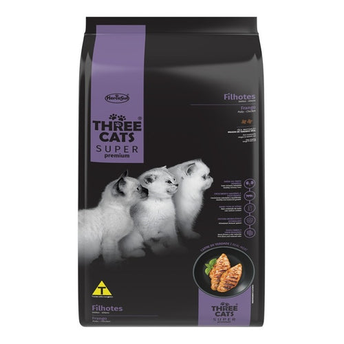 Three Cats Super Premium Filhote 500 Grs Con Regalo