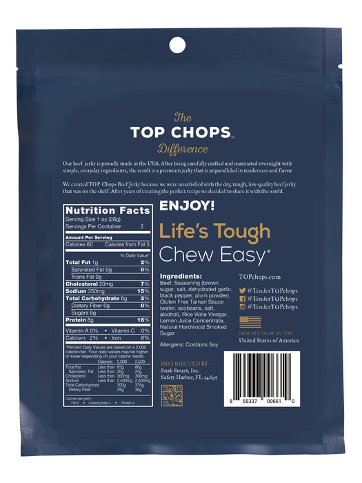 TOP Chops Original Beef Jerky 2oz