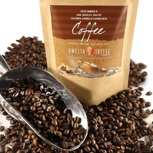 Amelia Toffee Co Coffee Toffee