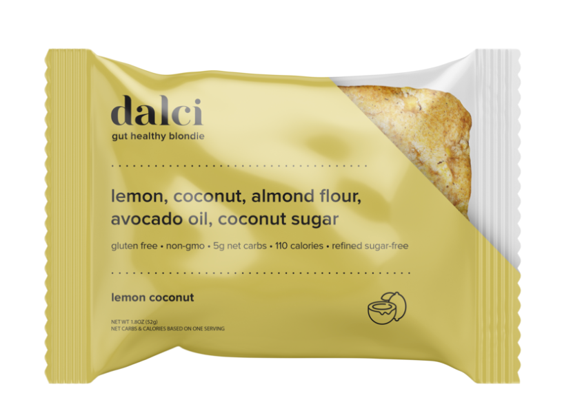 Dalci Lemon Coconut Blondie