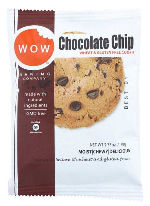 WOW Gluten Free Chocolate Chip Cookies