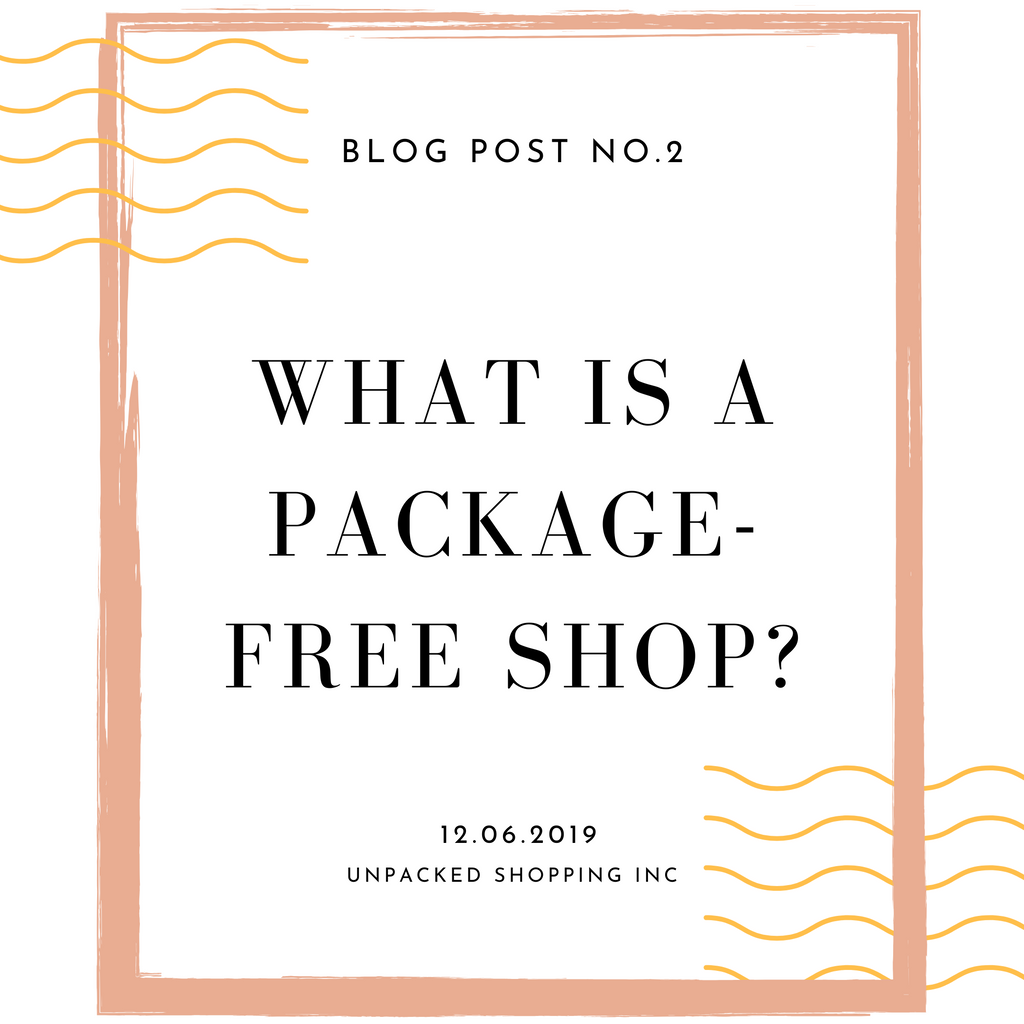 What is a package-free shop?