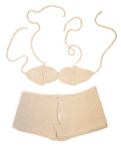 Load image into Gallery viewer, Coconut DIY Bikini Top