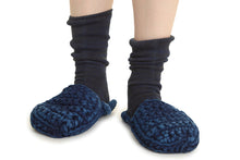 Load image into Gallery viewer, In the Clouds DIY Crochet Slippers