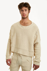 I'm-So-Braided Sweater - Rent