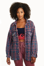 Load image into Gallery viewer, Werk Reversible Plaid Jacket