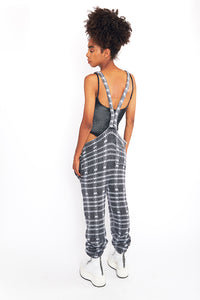 Reversible Plaid Overalls