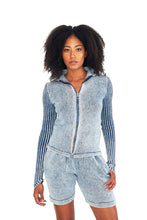 Load image into Gallery viewer, Space Zip Up Sweater - Rent