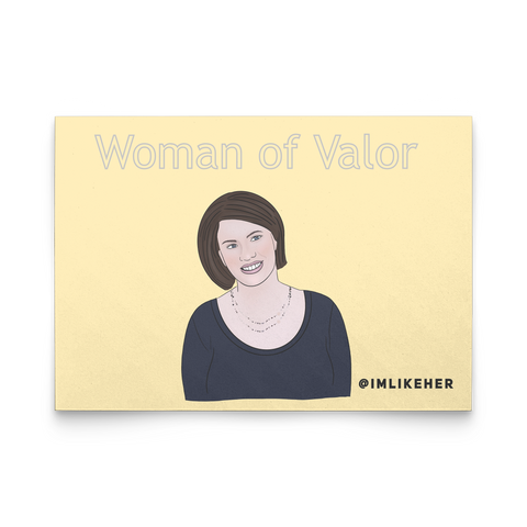 Woman of Valor Flat Cards