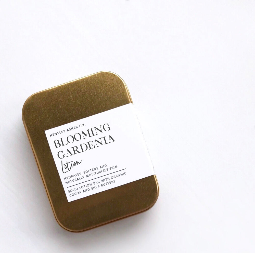 Blooming Gardenia Lotion Bar