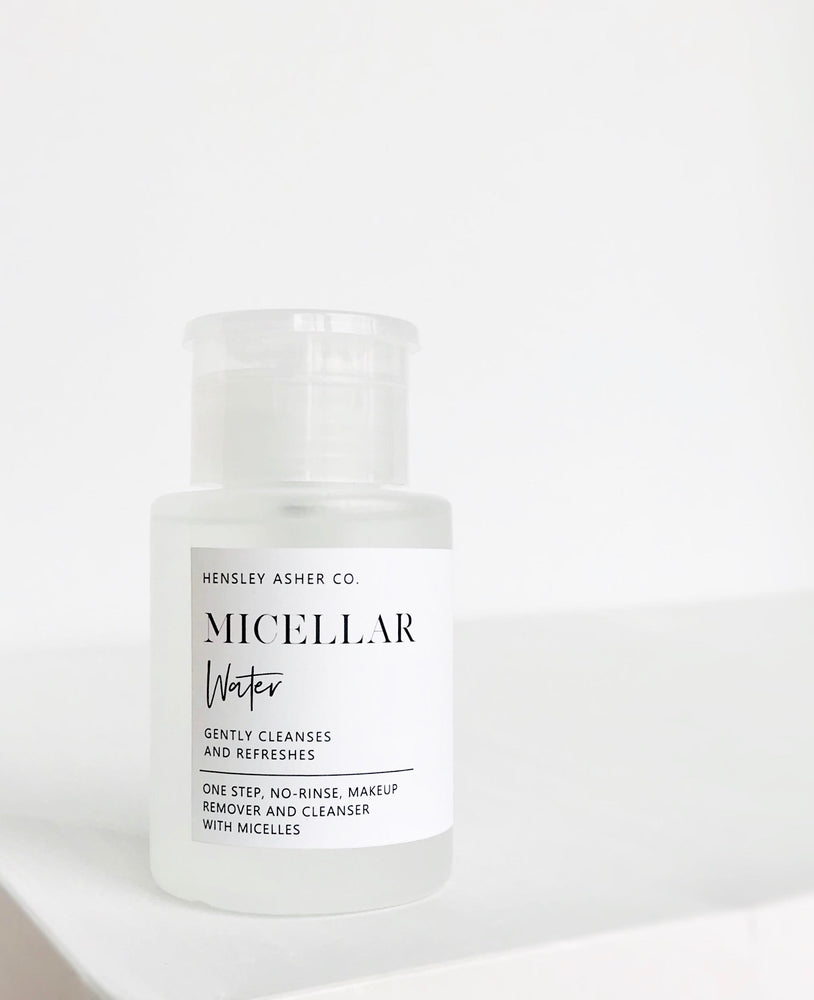 Micellar Water - Hensley Asher Co.