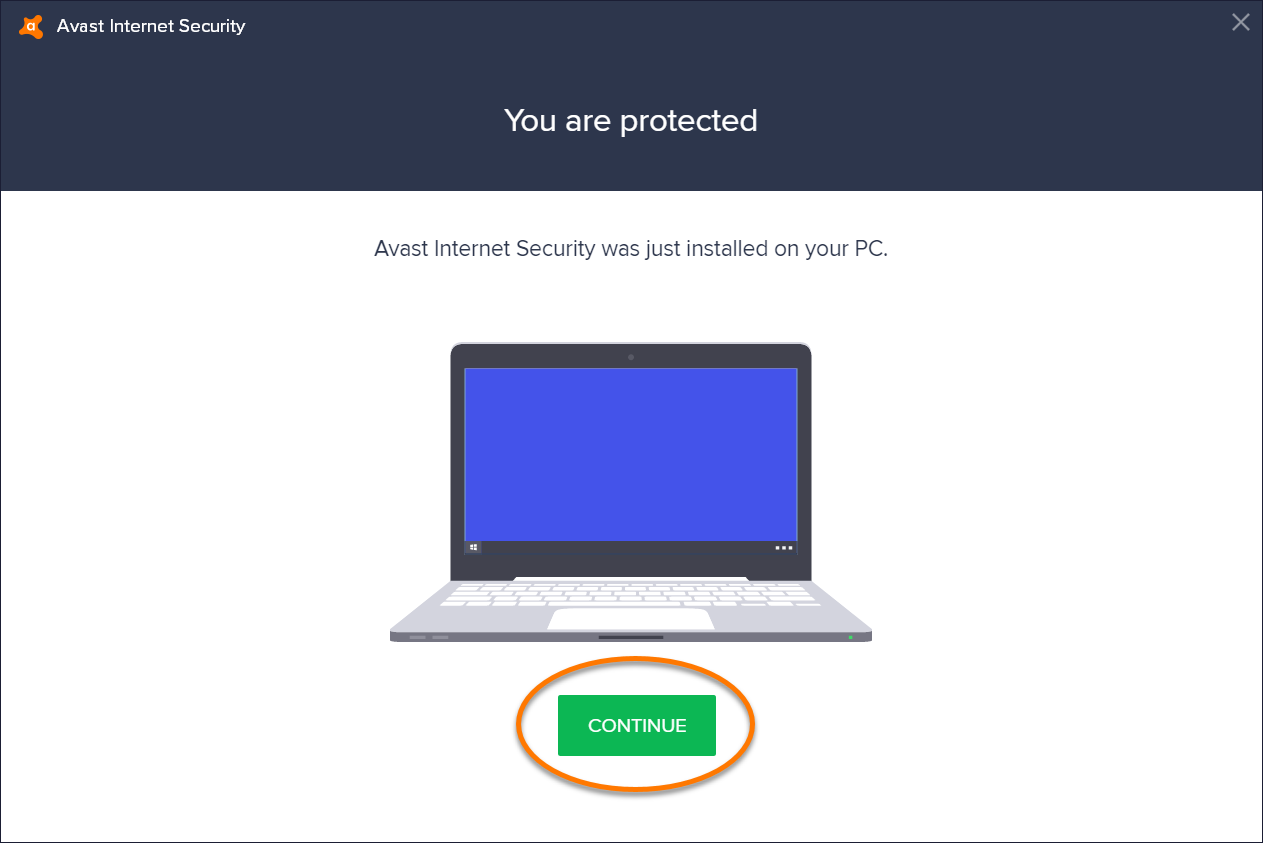 5 - Avast Internet Security Installation Continue 2 - AntivirusSale.com
