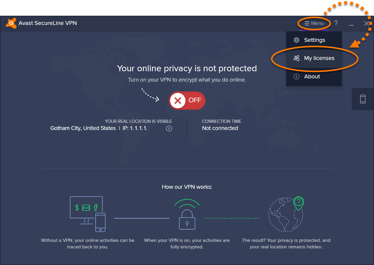 Avast SecureLine VPN Activation 1 - AntivirusSale.com