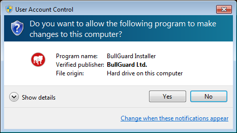 BullGuard Internet Security Installation File - Antivirussale.com