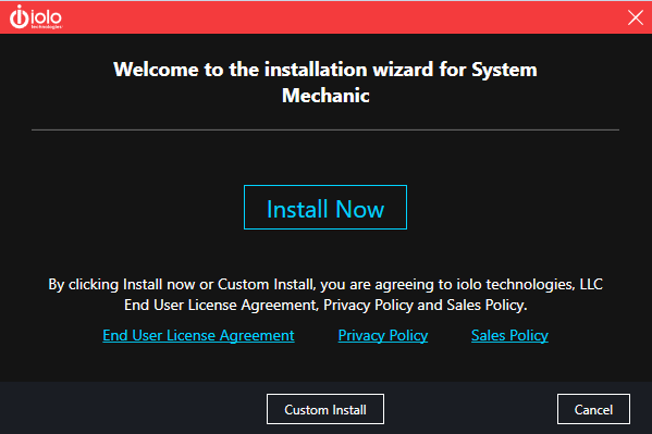 IOLO System Mechanic Start Installation