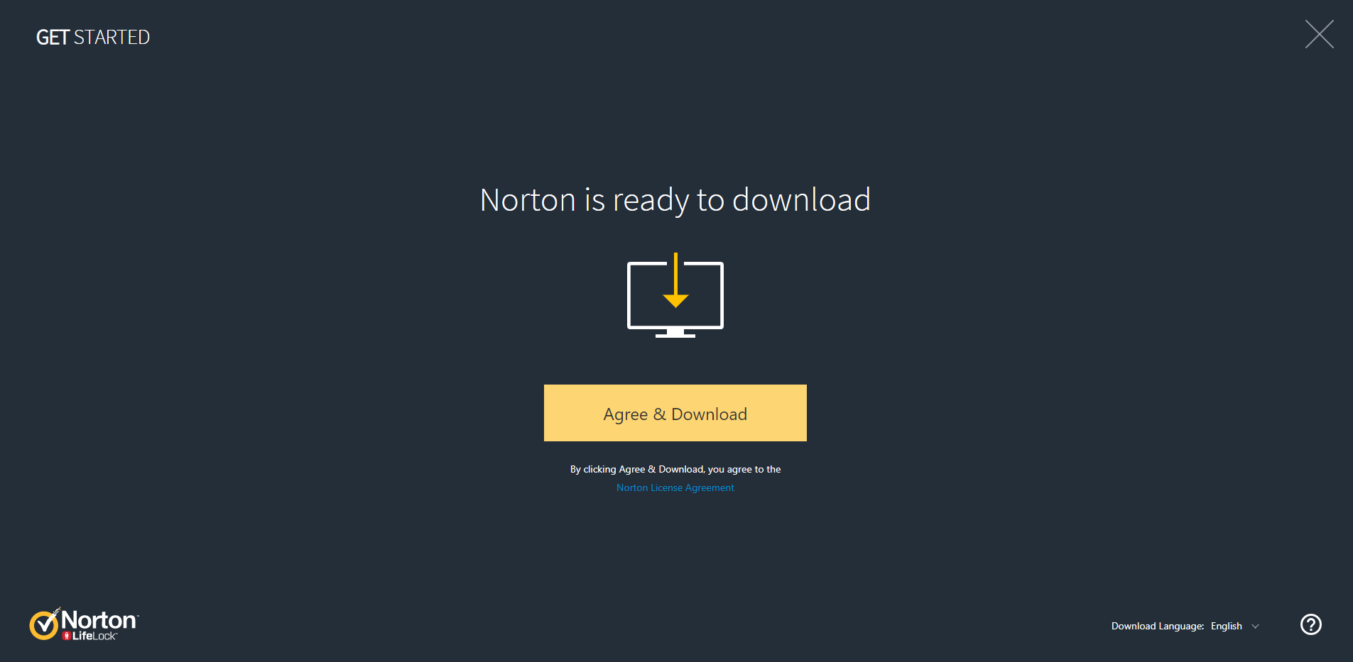 Instal Norton to your device 2