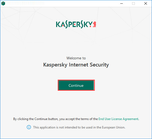Kaspersky Internet Security Installation Agree Terms