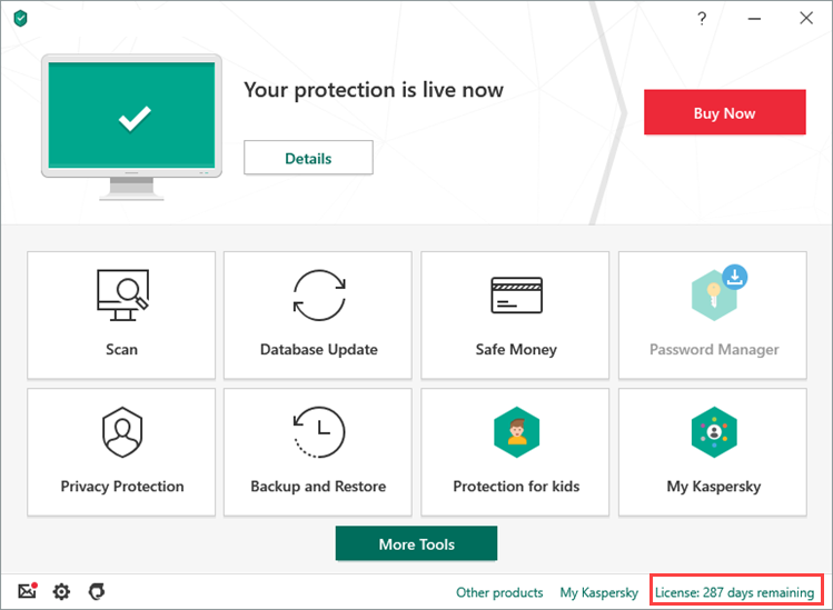 Kaspersky Total Security Activation 1