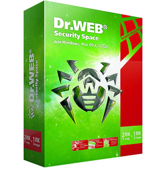 Dr.Web Security Space 1 Device - AntivirusSale.com