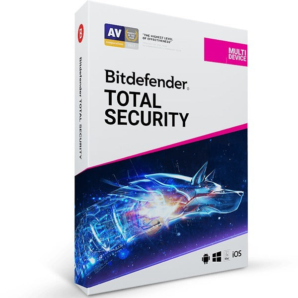 Bitdefender Total Security 10 Device 1 Year - AntivirusSale.com