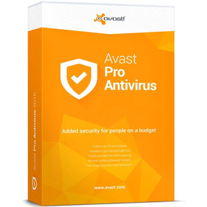 avast! Pro Antivirus 3 PC / 1 Year - AntivirusSale.com