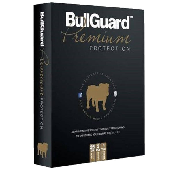 BullGuard Premium Protection + 25GB Backup 1 PC / 3 Year Unique Global Key