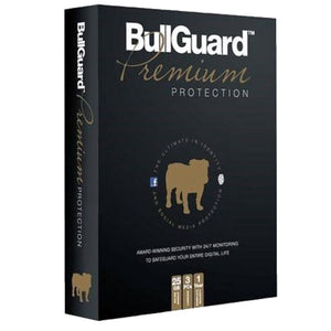 BullGuard Premium Protection + 25GB Backup 5 PC / 1 Year Unique Global Key - AntivirusSale.com