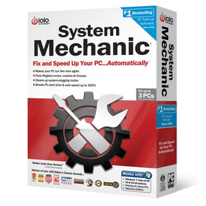 IOLO System Mechanic Unlimited PC / 1 Year Unique Global Activation Code 2019 - AntivirusSale.com