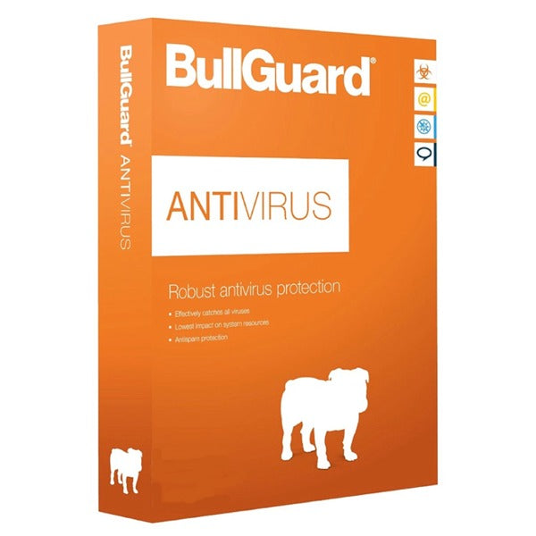 BullGuard Antivirus 1 Device / 1 Year (Worldwide Activation)