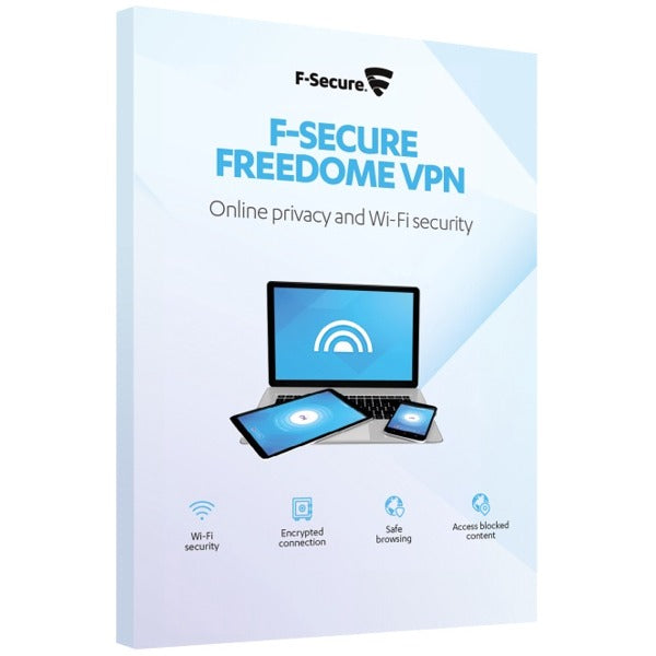 F-Secure Freedome VPN 1 Device / 1 Year AntivirusSale.com