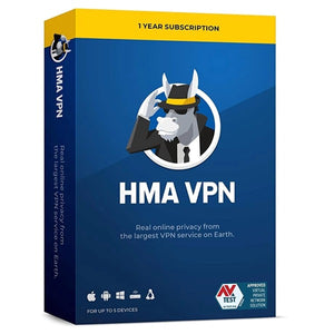 HMA VPN 5 Device / 1 Year