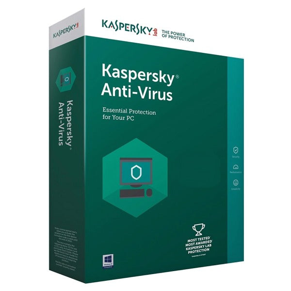 Kaspersky Anti-Virus 3 PC 1 Year Europe Activation Code