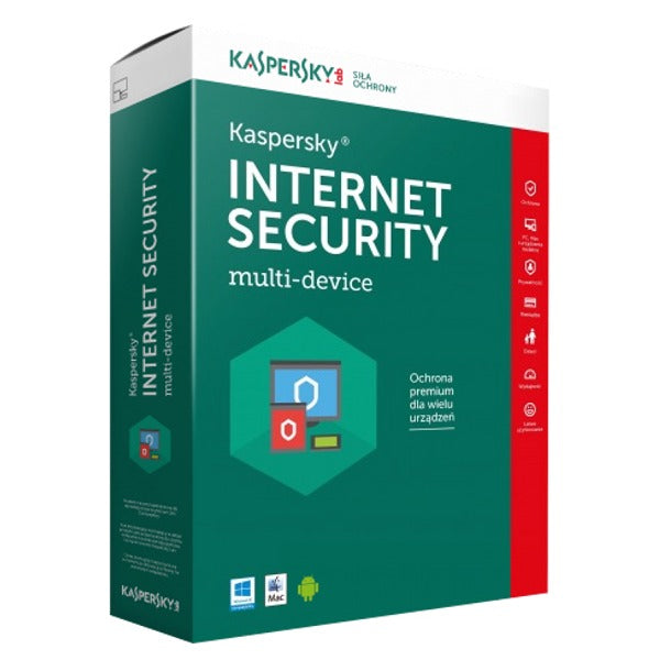 Kaspersky Internet Security 2 PC / Device 1 Year Multi-Device Europe Activation Code