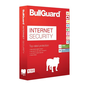 BullGuard Internet  Security 3 Device / 1 Year (Worldwide Activation) - AntivirusSale.com