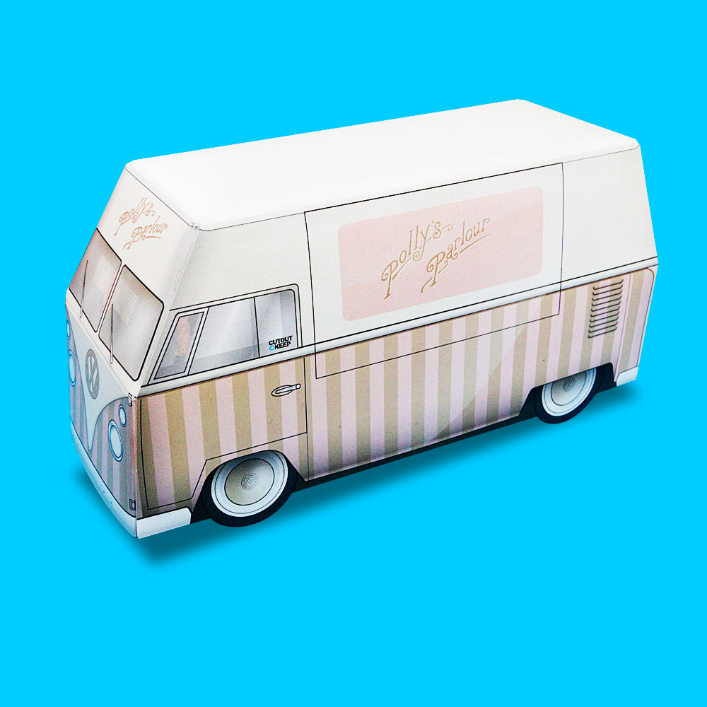 Polly Parlour Ice cream Bus