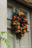 Spiced Orange Woodland 'Everlasting' Wreath