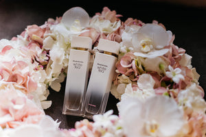 The Elizabeth Arden White Tea Floral Wreath