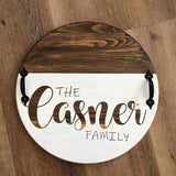 Anytime Project #3 Personalized Round Tray or Lazy Susan