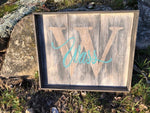 February Project 6 - Rustic Pallet