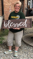 July Project #3 Pallet Inspired Sign
