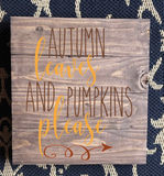 September Project #3 Pallet Inspired