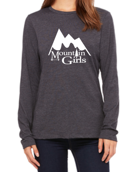 Mountain Girls Long Sleeve Shirt