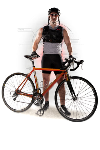 Cycling in a Resistance Vest