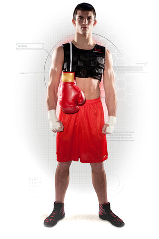 Boxing - Training in a Resistance Vest