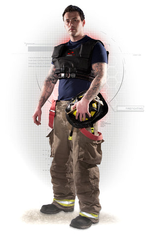 Firefighters - Train with a Resistance Wear Weight Vest